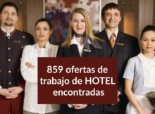 859 ofertas de trabajo de HOTEL encontradas